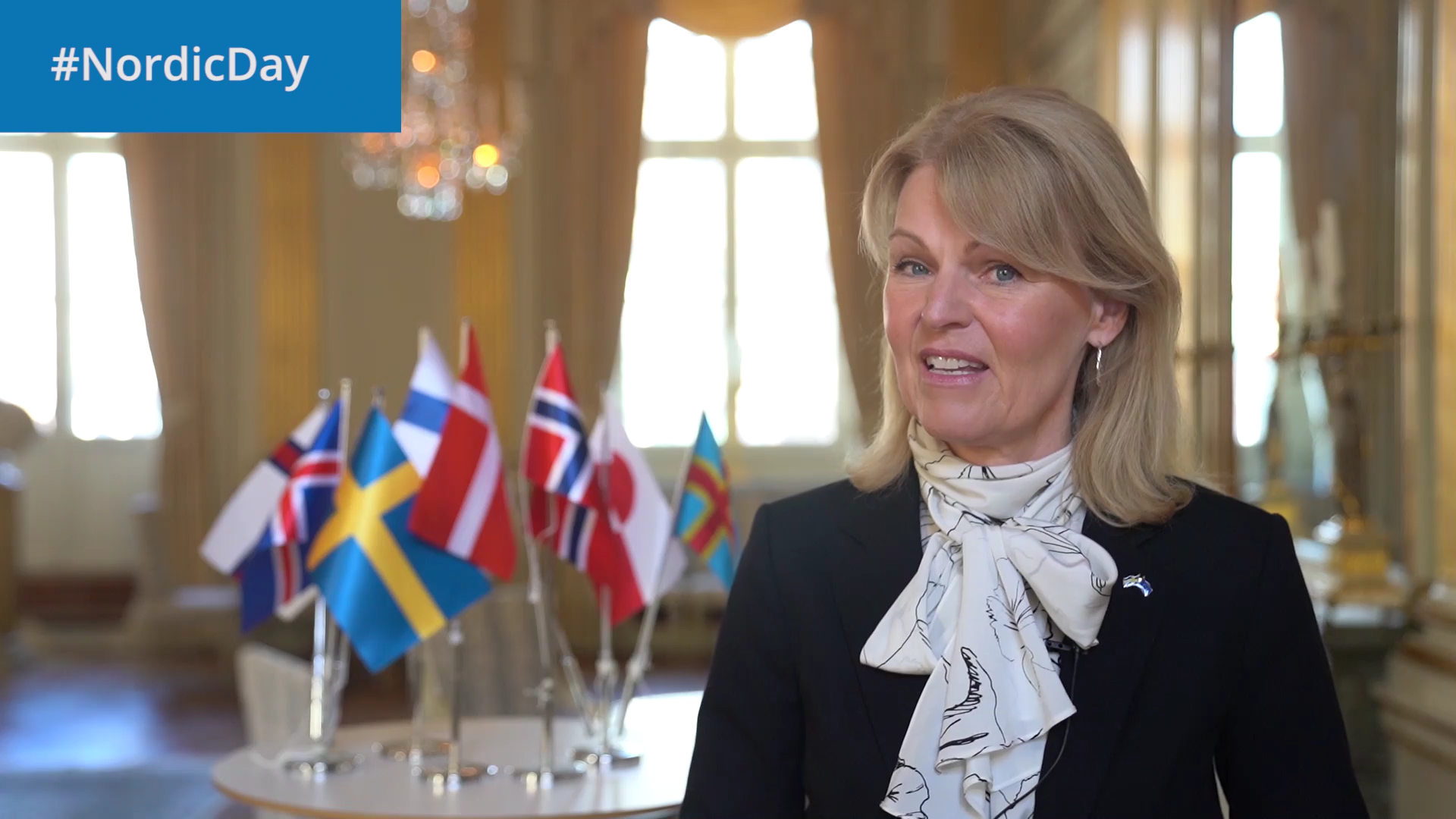 Minister for Nordic Affairs Anna Hallberg