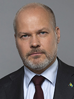 Minister for Justice and Migration Morgan Johansson